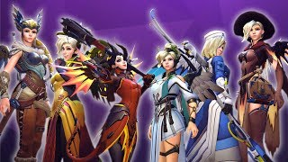 A Team Full Of Mercy Mains In Overwatch