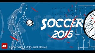 Soccer Opener 1   After Effects template
