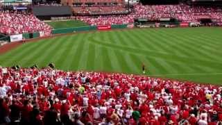 Clydesdales 2013 St. Louis Cardinals opening day!
