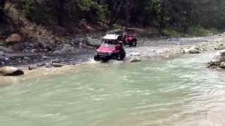 Jorge en el rio de las adjuntas