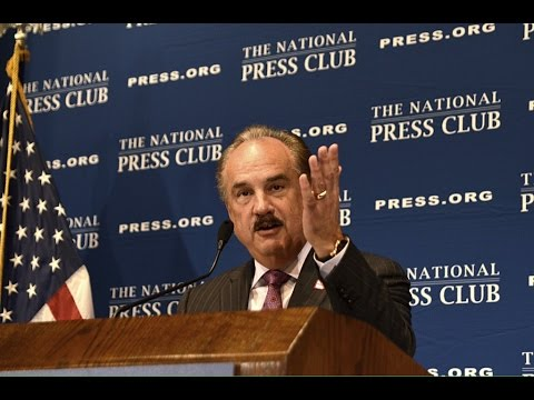 CVS Health CEO Larry J. Merlo speaks at the National Press Club - Sept. 19, 2014