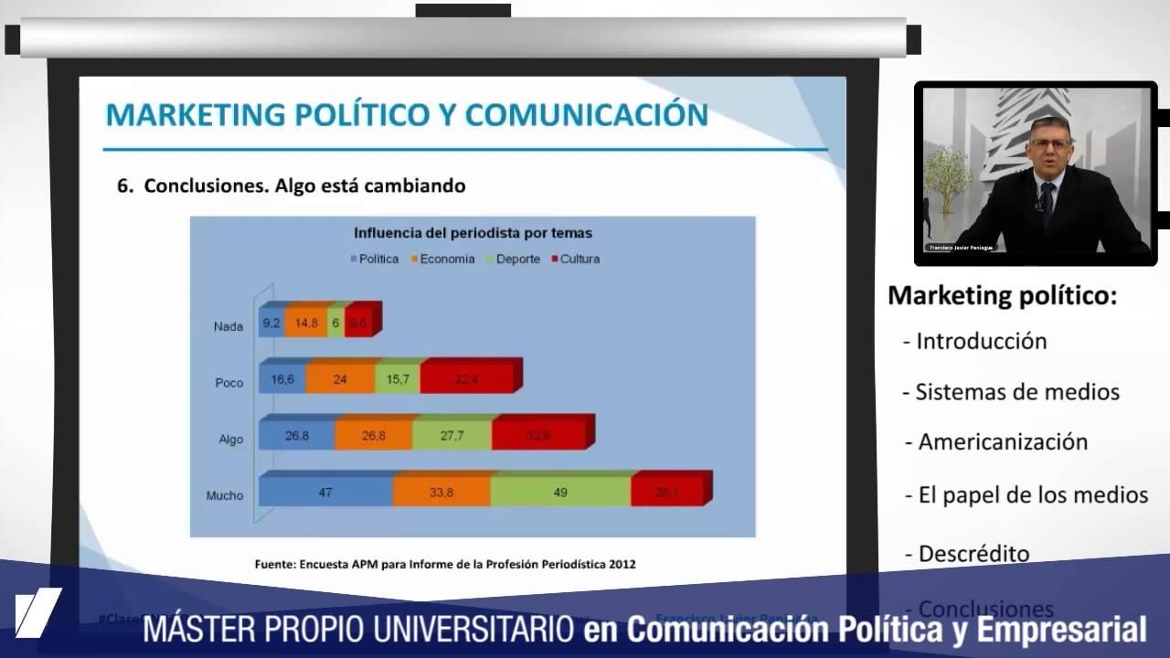 Máster Propio Universitario En Comunicación Política Y Empresarial Youtube