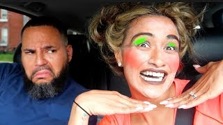 I DID MY MAKEUP HORRIBLY TO SEE HOW MY HUSBAND WOULD REACT!!