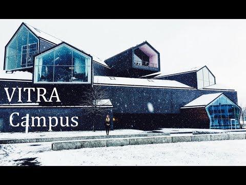 VITRA Campus Architektur Führung im Winter 2017