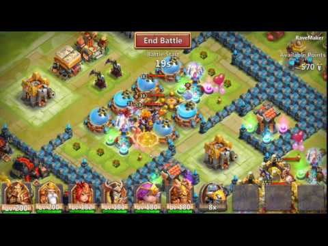 "Castle clash guild wars !!  ""GUILD GREECE"""
