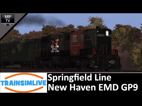 Let's Play Train Simulator 2016 - Springfield Line, EMD GP9