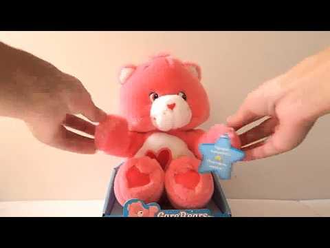 Care Bears Kiss & Hug Love a lot Bear