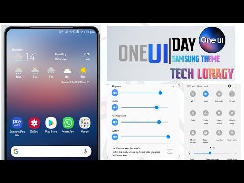 Samsung One UI Day Theme | For All Galaxy Phones | [Download & Install]