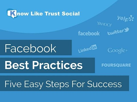 klt social facebook best practices