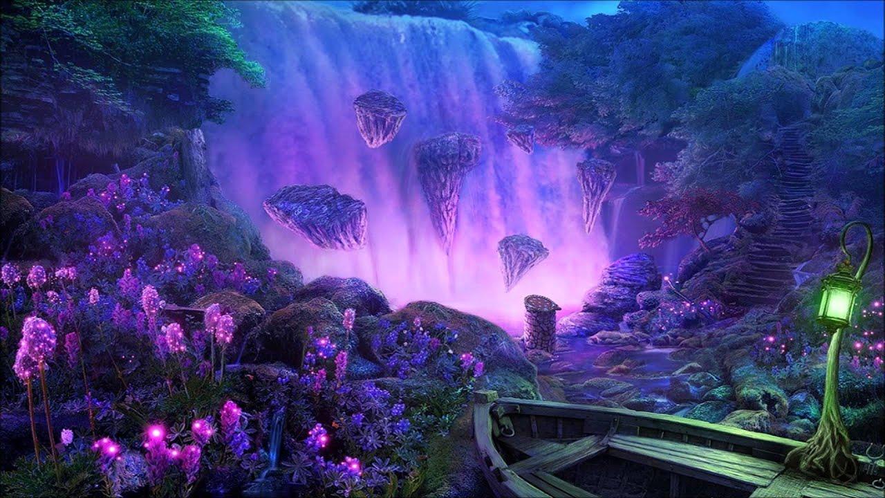 Fantasy Forest 3d Desktop Wallpaper Celtic Music High Elves Of Waterfall Sanctuary Youtube
