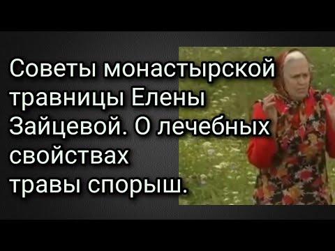 Советы монастырской травницы Елены Зайцевой. О лечебных свойствах травы спорыш.