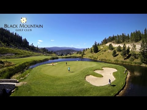 Black Mountain Golf Club - Kelowna - Fly Over