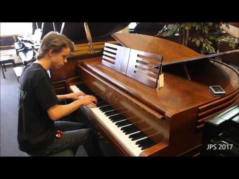 1937 Antique Wurlitzer Butterfly Grand Piano (Rare And Unique)