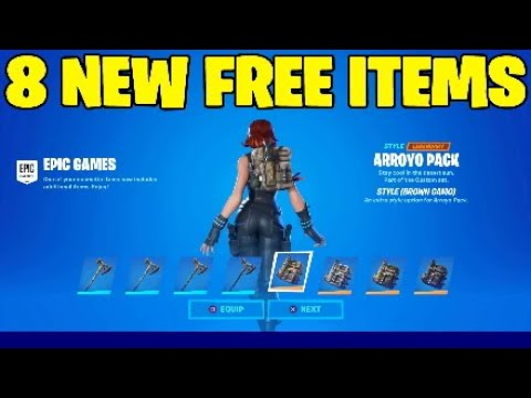 Fortnite New Free Items.Item Shop,Beef Boss,Volt Batons - Skin Giveaway