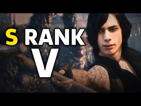 10 Minutes Of S Rank Devil May Cry 5 V Gameplay thumbnail