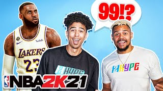 Guess That NBA Players 2K21 Rating !!