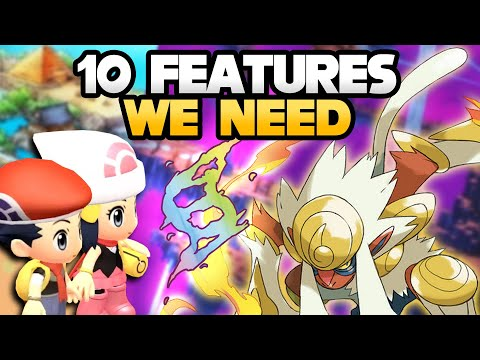 10 Features We NEED in Pokémon Brilliant Diamond and Shining Pearl Remakes