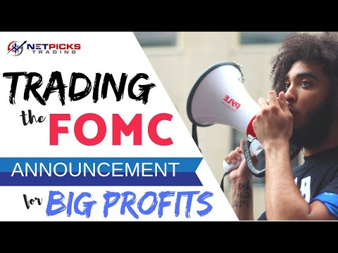 Trading the FOMC Announcement for Big Profits