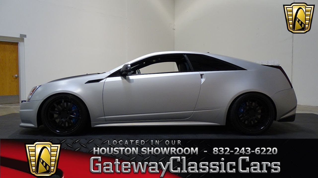 2013 cadillac cts v d3 gateway classic cars 770 houston showroom youtube. Black Bedroom Furniture Sets. Home Design Ideas