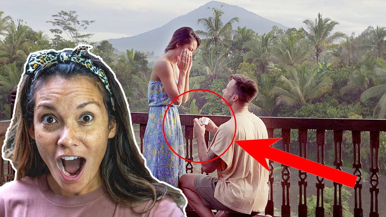 Surprise Proposal 2020 02.02  | Jen & Simen's Bali Proposal  | BALI vlog