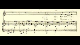 """The Art to Sing Like a Violin: Eugenia Burzio """"O mio Fernando"""" (1913)"""