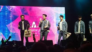 B.A.P's bag lottery (Live in Berlin 181207)