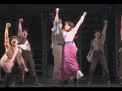 Newsies - King of New York - Disney's Newsies the Musical on Broadway