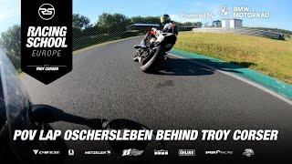 BMW S 1000 RR POV lap Oschersleben (DE) following Troy Corser 🐊