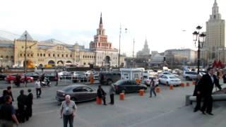 Смотреть видео площадь трех вокзалов в Москве