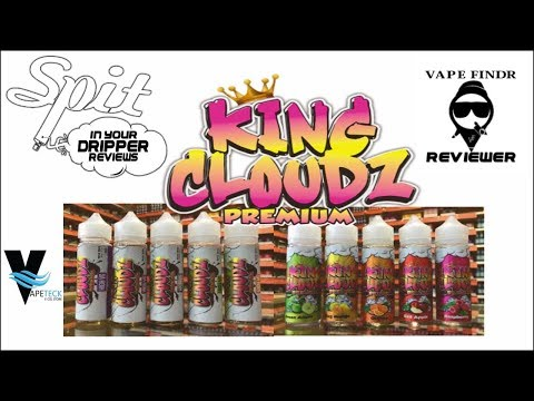 E-JUICE REVIEW - KING CLOUDZ PREMIUM E-LIQUID