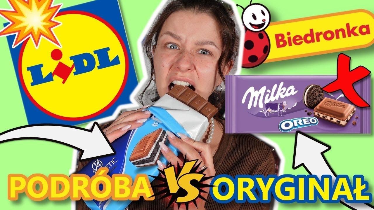 PODRÓBY znanych słodyczy vs ORYGINAŁY | MILKA, KINDER... 🍫🍭