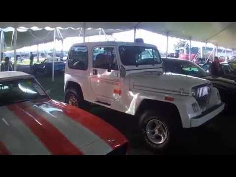 Inside Mecum Collector Car Auction - Kissimmee 2015