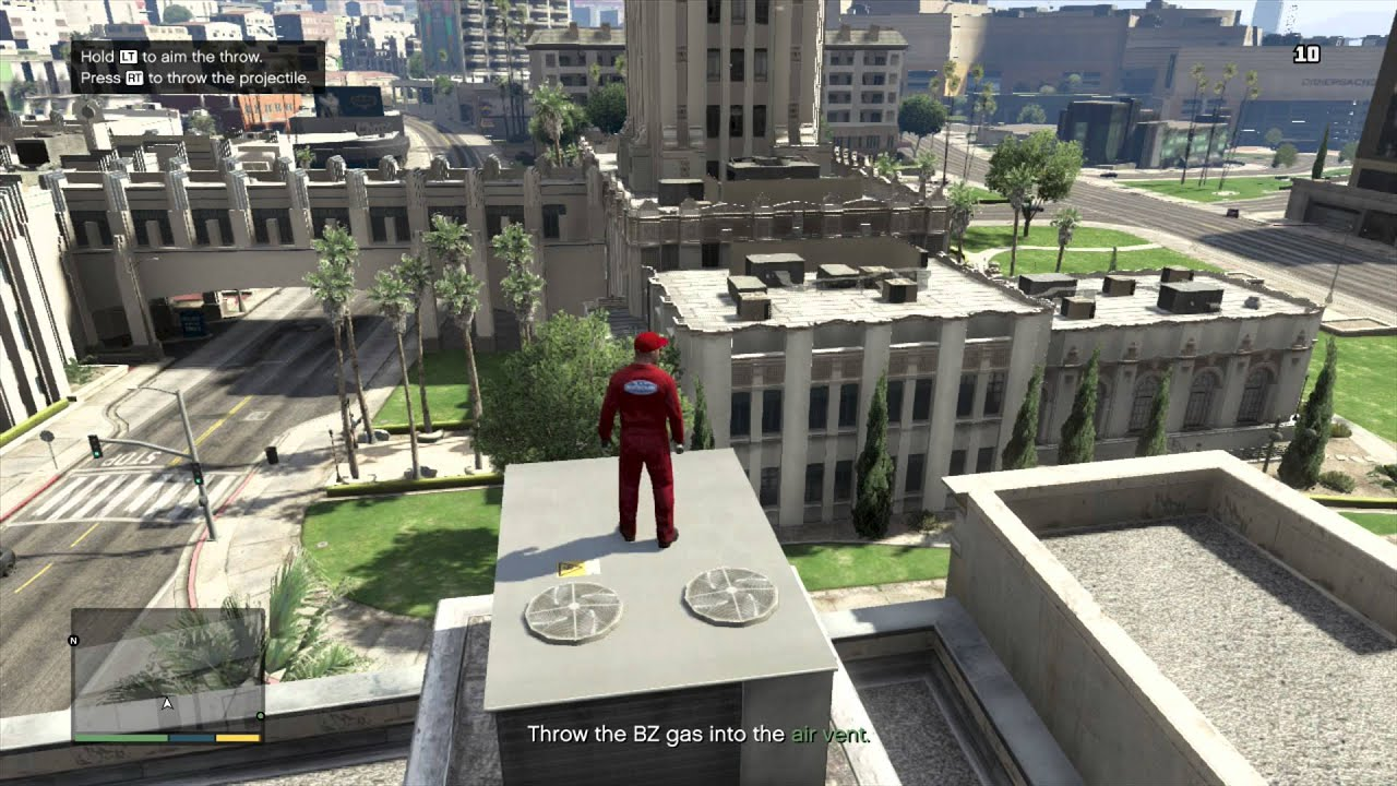 Grand Theft Auto 5 Heist Gameplay Walthrough Part 1 With