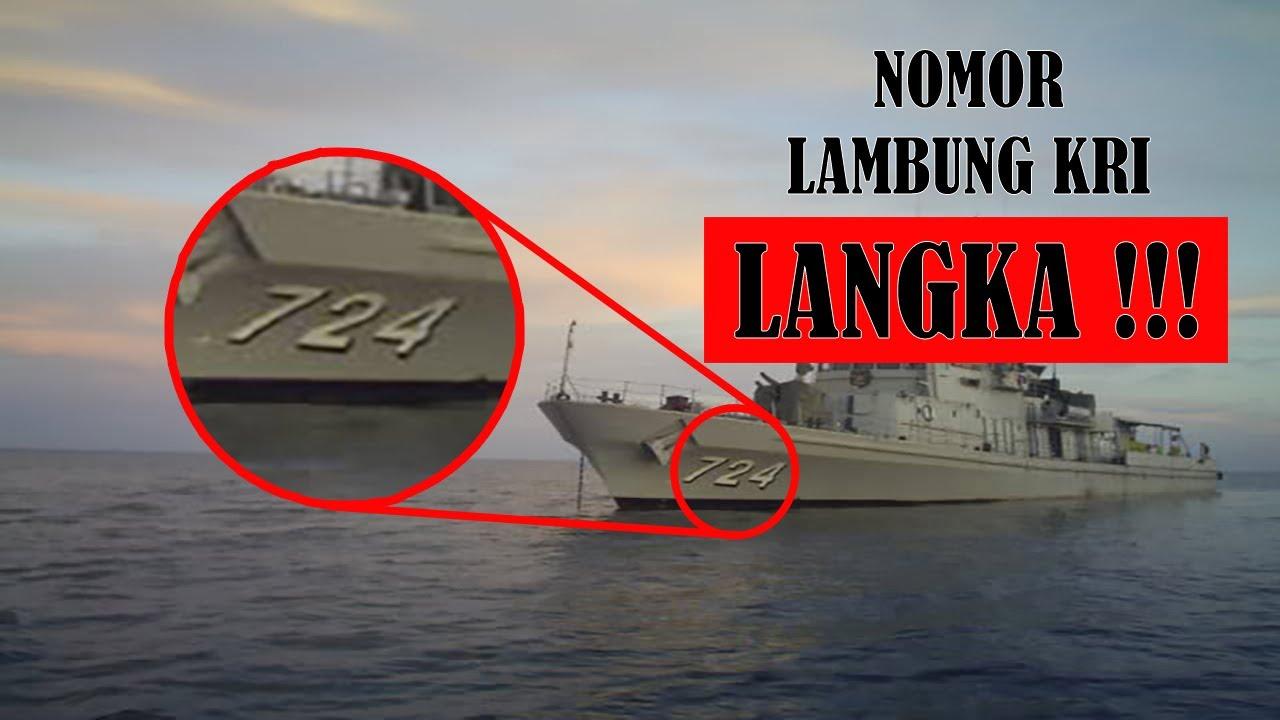 Arti Nomor Lambung Pada Kapal Perang TNI AL Republik Indonesia