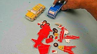 Voitures Assembler Blocs de Construction - Voiture Jouets pour Enfants