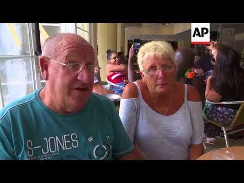 Tourists in Cuba take stock of Irma's impact