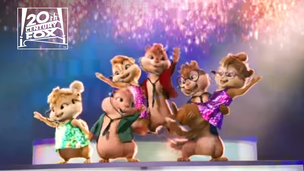 Chipmunks & Chipettes - BAD ROMANCE Music Video | FOX Home Entertainment