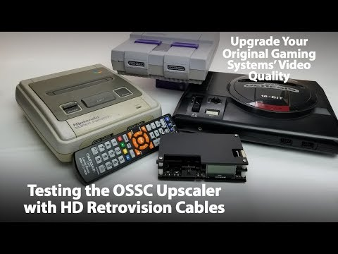 Should you buy an OSSC Open Source Scan Converter for Retro Video Game Consoles