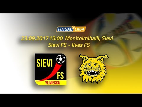 23.9.2017 Sievi FS - Ilves FS  klo 15.00 Futsal Liiga
