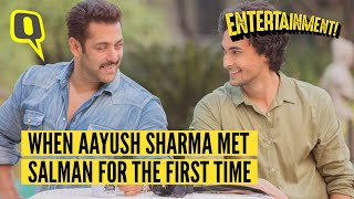 Aayush's First Meeting with Salman was a Scene Out of a Hindi Film I The Quint