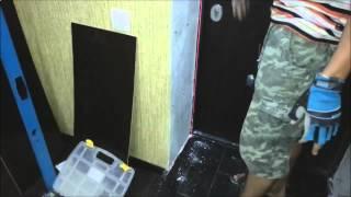 Как оформить портал входной двери