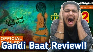 Gandi Baat Season 2 AltBalaji Web Series | All Episodes Review | Gandi Baat Season 2 Download |