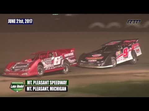 2017 American Ethanol Late Model Tour At Mt  Pleasant Speedway - Feature Event (HIGHLIGHTS)