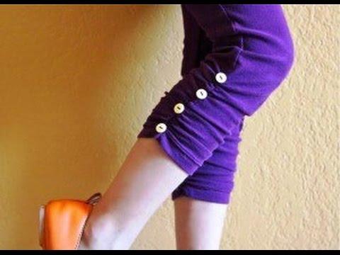 Leggings selber nähen. Leggings selber machen. Diy Leggings anleitung.