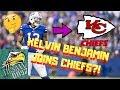 KELVIN BENJAMIN JOINS CHIEFS?! The Chiefs Just Replaced Kareem Hunt!