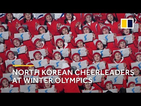 Stunning performance: North Korean cheerleaders steal the spotlight at Winter Olympics 2018