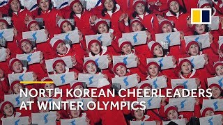 Stunning performance: North Korean cheerleaders steal the spotlight at Winter Olympics 2018