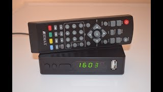 SIMAX HDTR871F2 тюнер Т2 ресивер DVB T2 огляд, настройка, підключення