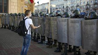 Hackerek visszavágtak a belorusz rendőröknek