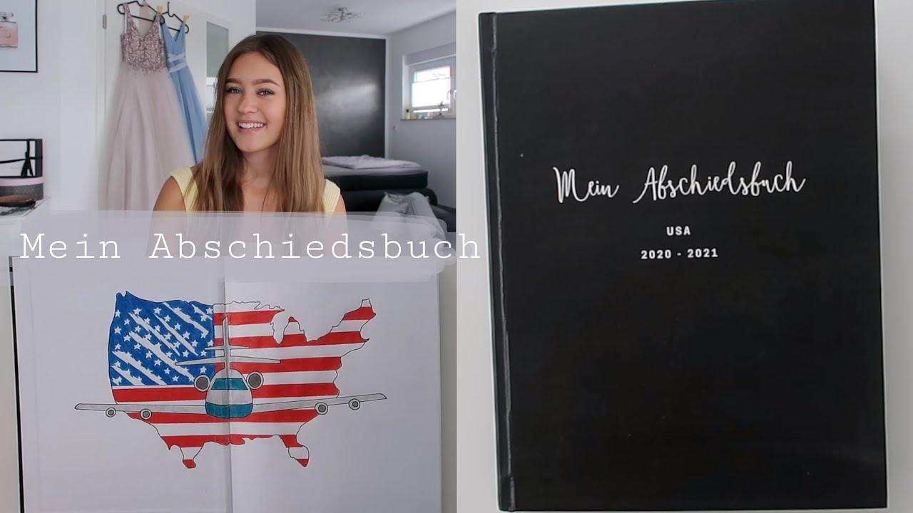 Mein Abschiedsbuch 🇺🇸🤩 // Auslandsjahr USA